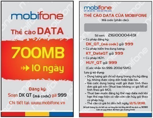 Thẻ data 3G Mobifone mua ở đâu giá rẻ và uy tín nhất?
