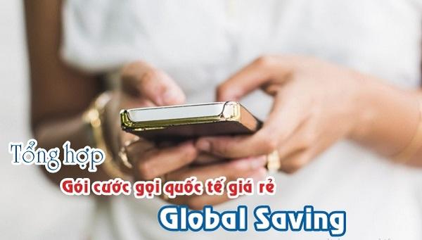 Hướng dẫn cách đăng ký các gói cước gọi quốc tế Global Saving Mobifone