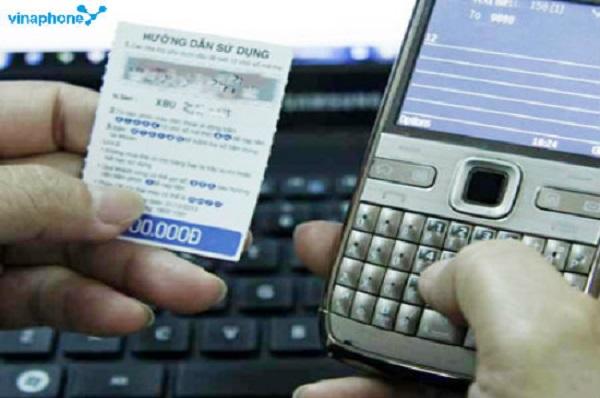 Cách tìm số seri thẻ cào Vinaphone khi còn mã số thẻ cào