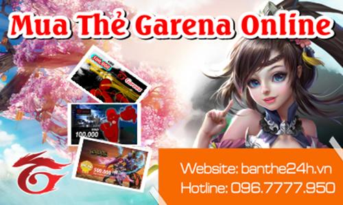 Địa chỉ mua thẻ Garena giá rẻ, chiết khấu tốt nhất hiện nay