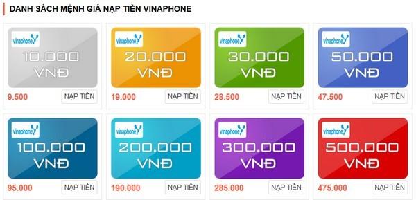 Những điều về thẻ cào Vinaphone có thể bạn chưa biết