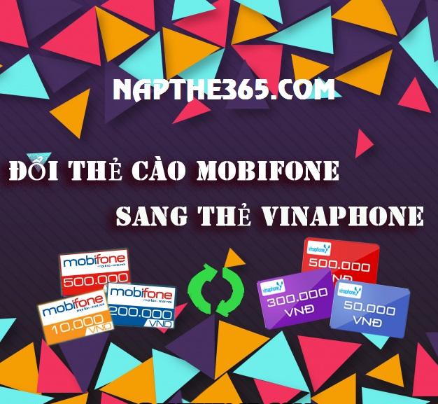 Cách đổi thẻ Mobifone sang thẻ Vinaphone siêu dễ dàng