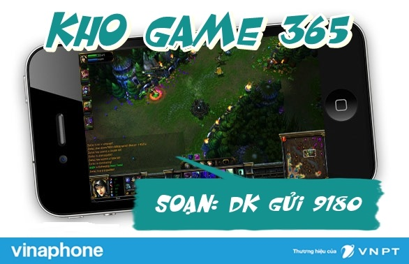 Hướng dẫn nhanh cách tải dịch vụ game 365 vinaphone