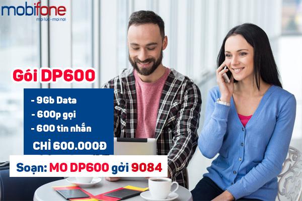 Hướng dẫn đăng ký gói DP600 Mobifone để nhận ưu đãi khủng