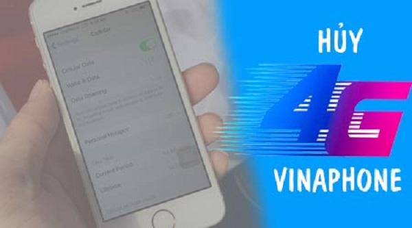 Cách hủy dịch vụ 4G Vinaphone