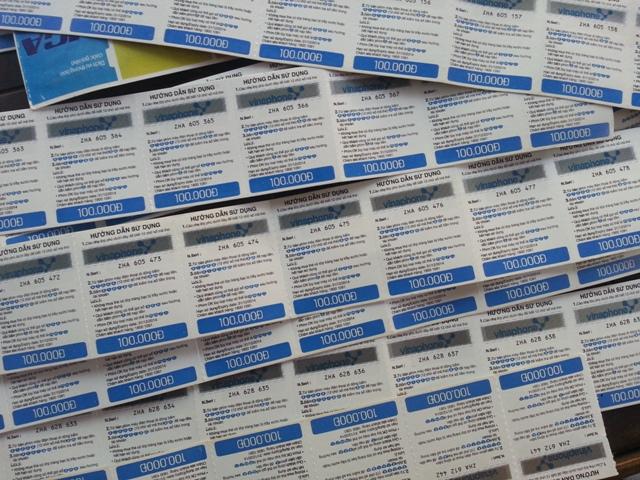 Các loại thẻ cào được thu mua tại website doithe66.com