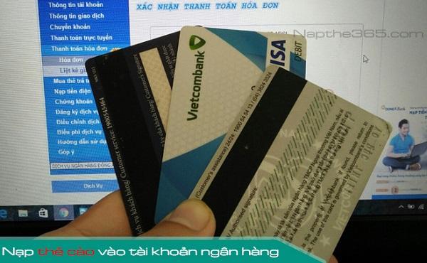 Hướng dẫn nạp tiền vào thẻ atm bằng thẻ điện thoại