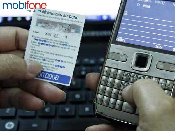 Đổi thẻ Mobifone bị rách hỏng, mất số
