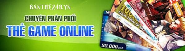 Mua thẻ Game online bằng thẻ ATM uy tín và nhanh chóng nhất