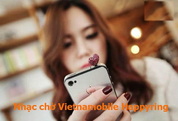 Cài những bài nhạc yêu thích cùng nhạc chờ Vietnamobile Happyring