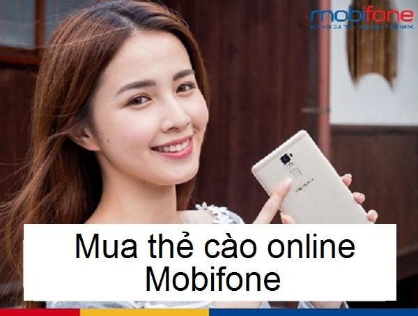 Các cách mua thẻ cào Mobifone hiện nay