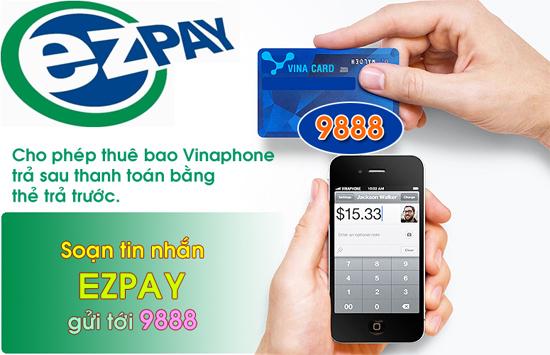 Hướng dẫn dùng thẻ cào Vinaphone thanh toán cước trả sau hàng tháng