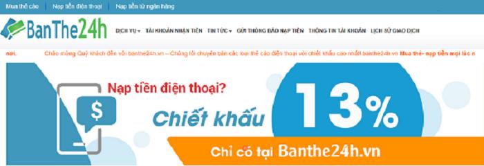 Cách mua thẻ Mobifone online bằng Vietcombank tiết kiệm hơn