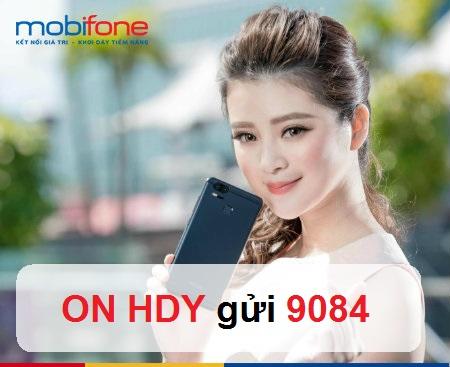 Hướng dẫn đăng ký gói cước HDY Mobifone