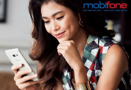 Các thao tác tra cứu cước hòa mạng trả sau Mobifone