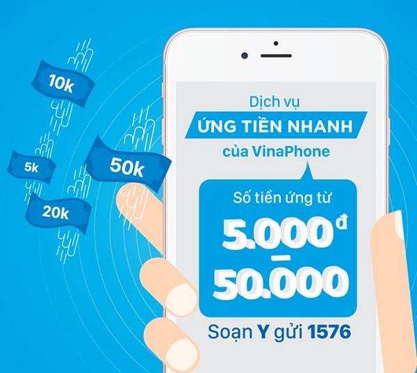 3 tính năng hấp dẫn của dịch vụ ứng tiền nhanh VinaPhone