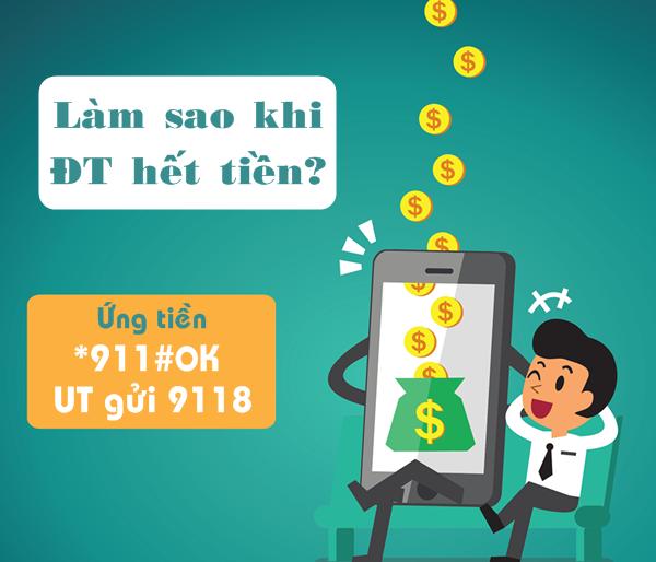 Ứng 10k đến 50k bằng dịch vụ ứng tiền Viettel cực nhanh