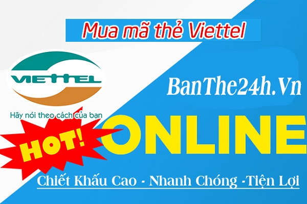Mua thẻ cào Viettel bằng thẻ ATM như thế nào?