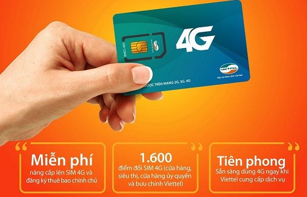 Cách đổi sim 4G Viettel miễn phí nhanh nhất