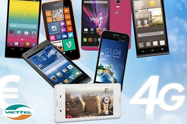 Tổng hợp những dòng máy hỗ trợ 4G viettel phổ biến nhất hiện nay