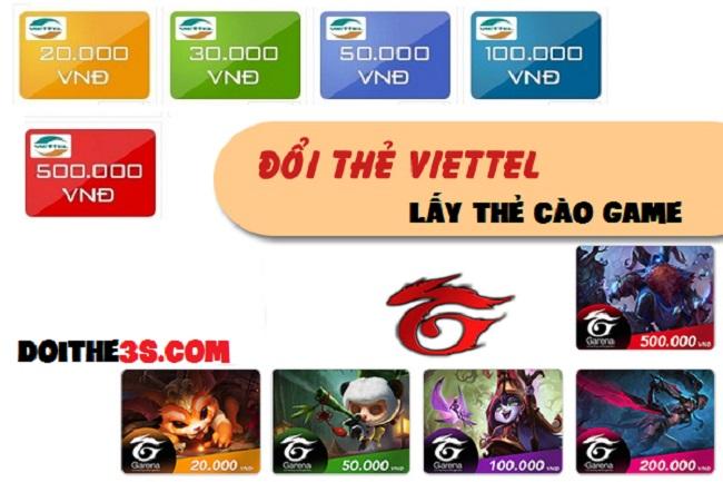 Hướng dẫn đổi thẻ cào Viettel lấy thẻ game nhanh chóng và an toàn