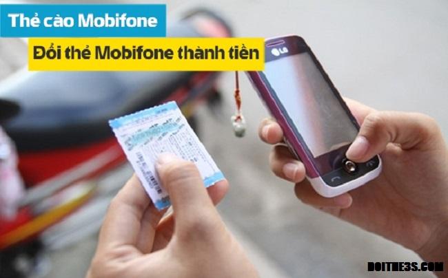 Đổi thẻ cào Mobifone sang tiền mặt đơn giản