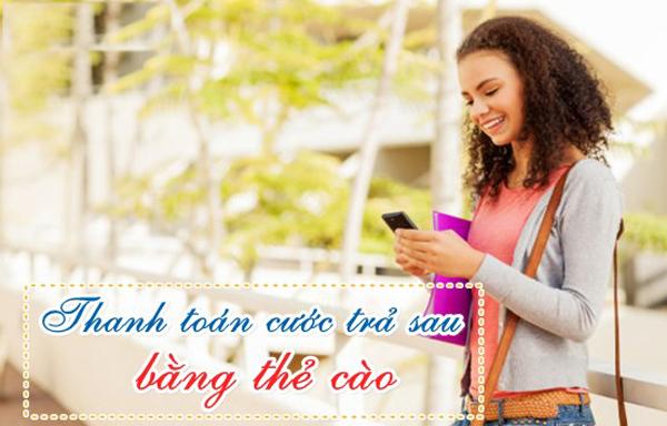 Hướng dẫn thanh toán cước trả sau Mobifone bằng thẻ cào