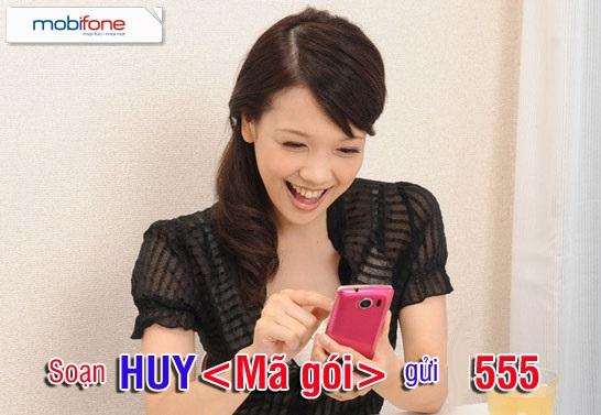 Hướng dẫn nhanh cách hủy dịch vụ từ số 555 mobifone