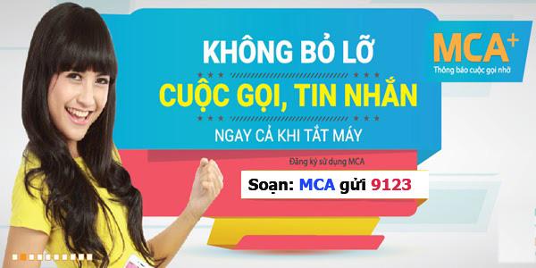 Hướng dẫn đăng ký dịch vụ MCA Viettel - Thông báo cuộc gọi nhỡ