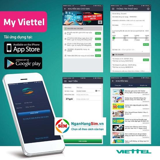 Hướng dẫn cách tặng các gói cước 3G Viettel nhanh nhất