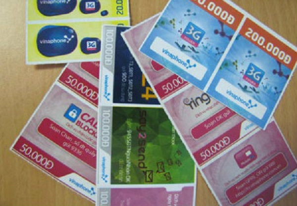Những điều cần biết về số seri thẻ cào Vinaphone