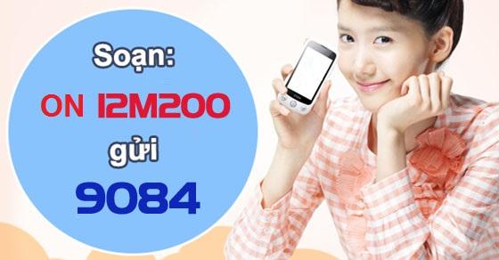 Hướng dẫn chi tiết cách đăng kí gói 3G 12M200 mobifone ưu đãi nhất