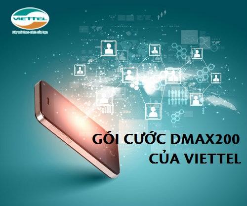 Hướng dẫn cách đăng ký gói cước Dmax 200 của Viettel
