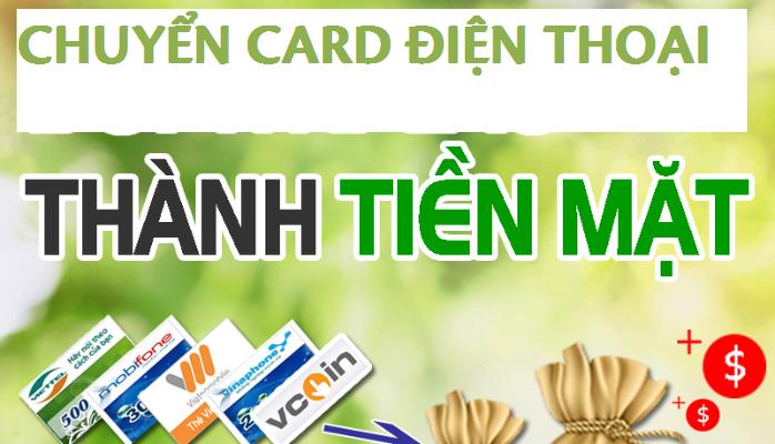 Hướng dẫn chi tiết cách chuyển card điện thoại thành tiền mặt
