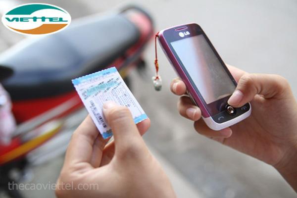 2 Bước đơn giản phân biệt thẻ cào Viettel giả