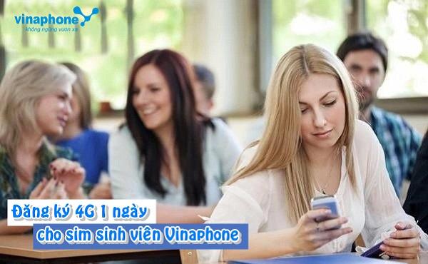 Tổng hợp các gói cước 4G Vinaphone sinh viên 1 ngày