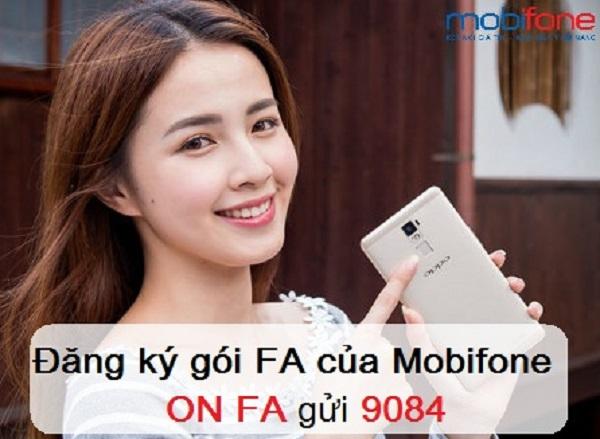 Lướt Face book thả ga với các gói cước FA Mobifone
