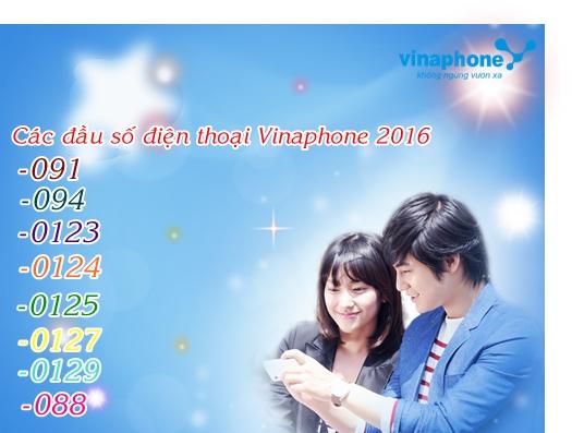 Các đầu số điện thoại Vinaphone mới nhất hiện nay