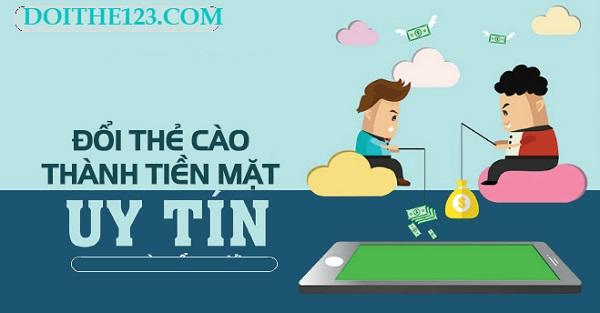 Lợi ích của rút tiền mặt từ thẻ cào tại Doithe123.com