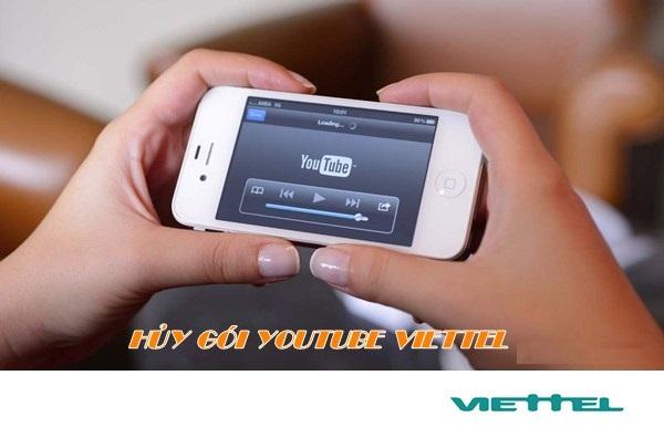Hướng dẫn chi tiết cách hủy gói xem youtube của viettel