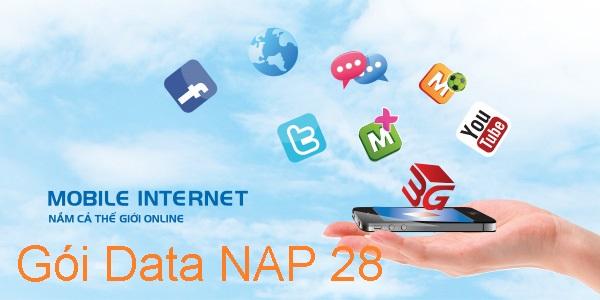 Cách mua thêm lưu lượng 3G Mobifone với gói Data Nap28 nhanh nhất