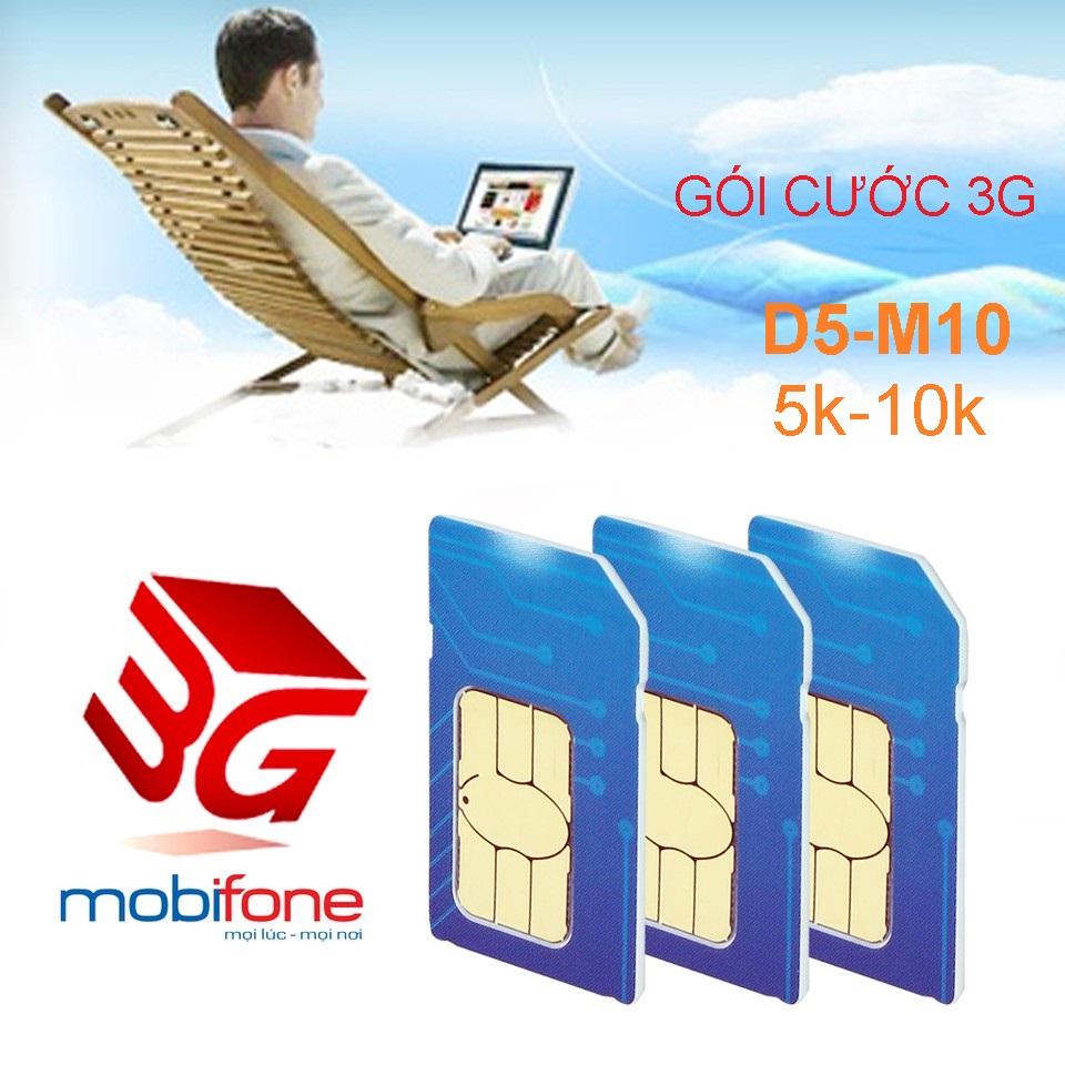 Đăng ký gói cước 3G Mobifone gì chỉ với 5k – 10k?