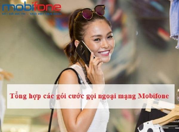 Tổng hợp các gói cước gọi ngoại mạng Mobifone