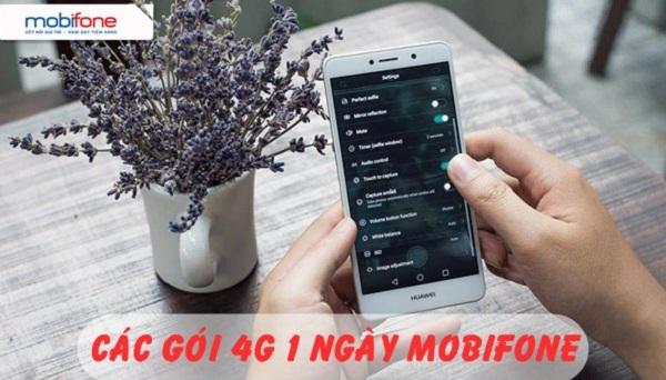 Tổng hợp các gói cước 4G dùng 1 ngày Mobifone mới nhất 2017