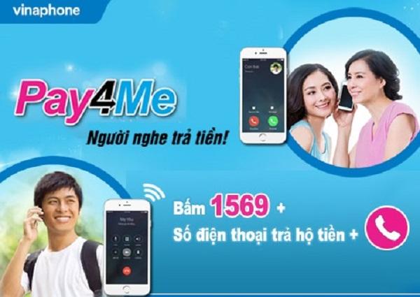 Hướng dẫn cách đăng ký dịch vụ người nghe trả tiền Pay4Me Vinaphone