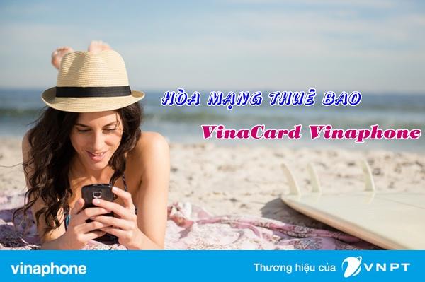 Hướng dẫn cách hòa mạng  gói VinaCard Vinaphone cho sim trả trước