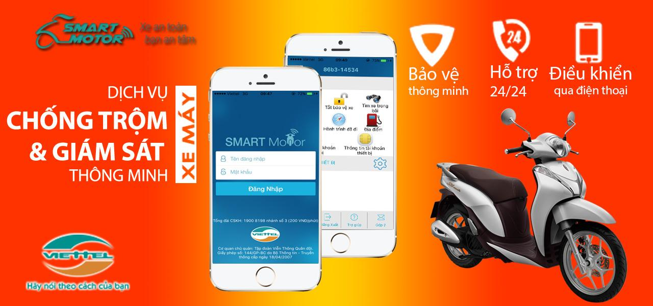 Hướng dẫn cách sử dụng dịch vụ Smart Motor Viettel ưu đãi nhất