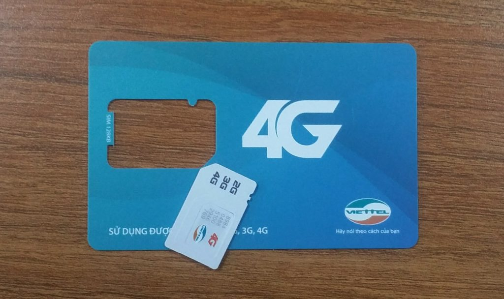 Thông tin về cách đổi sim 4G Viettel tại nhà