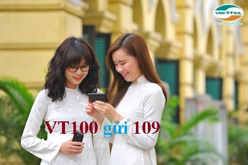 Cách đăng ký VT100 cho sim thường Viettel hưởng 200SMS miễn phí