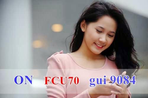 Điểm khác biệt giữa gói FCU70 và F70 mobifone